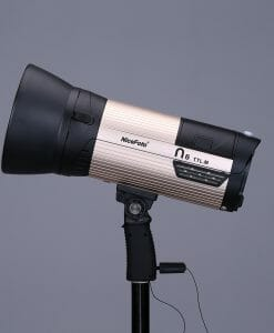 N600 battery powered studio light